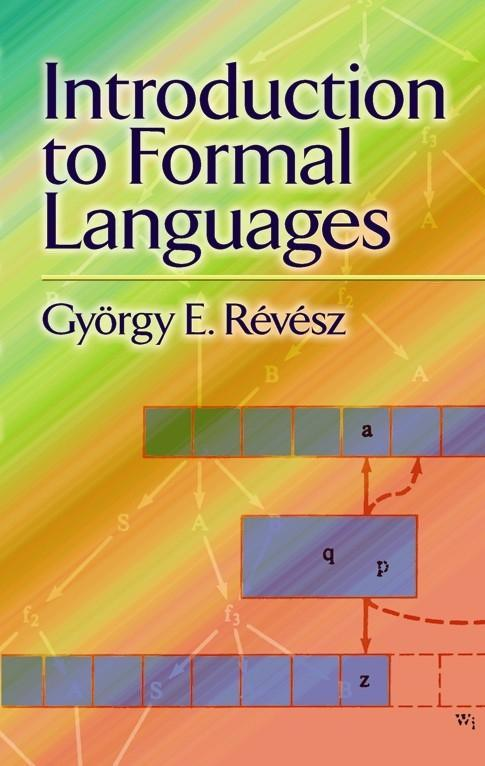 Introduction to Formal Languages als Taschenbuch