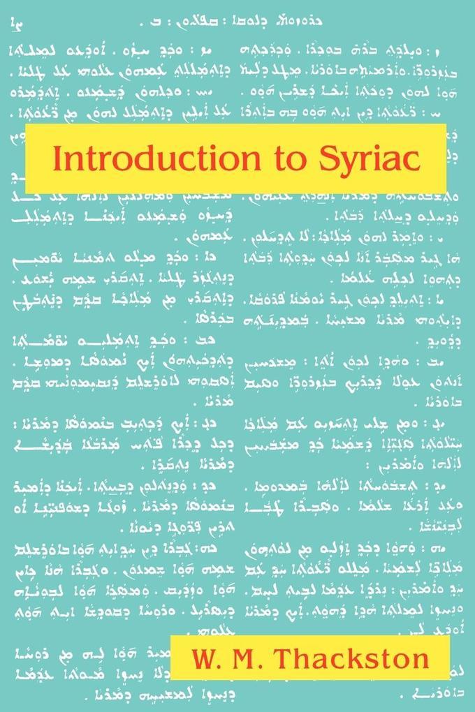Introduction to Syriac als Buch