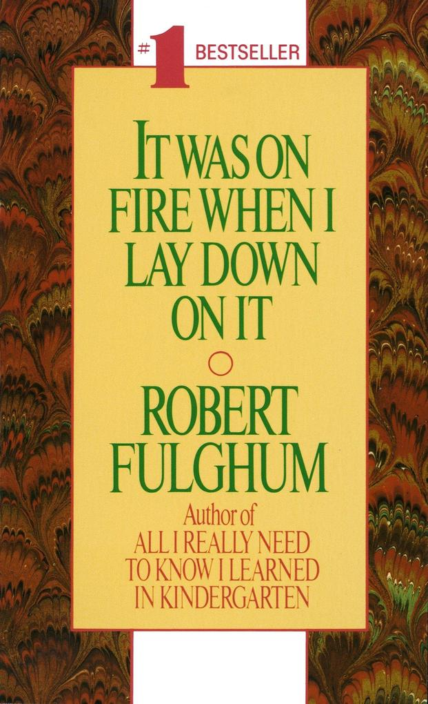 It Was on Fire When I Lay Down on It als Taschenbuch