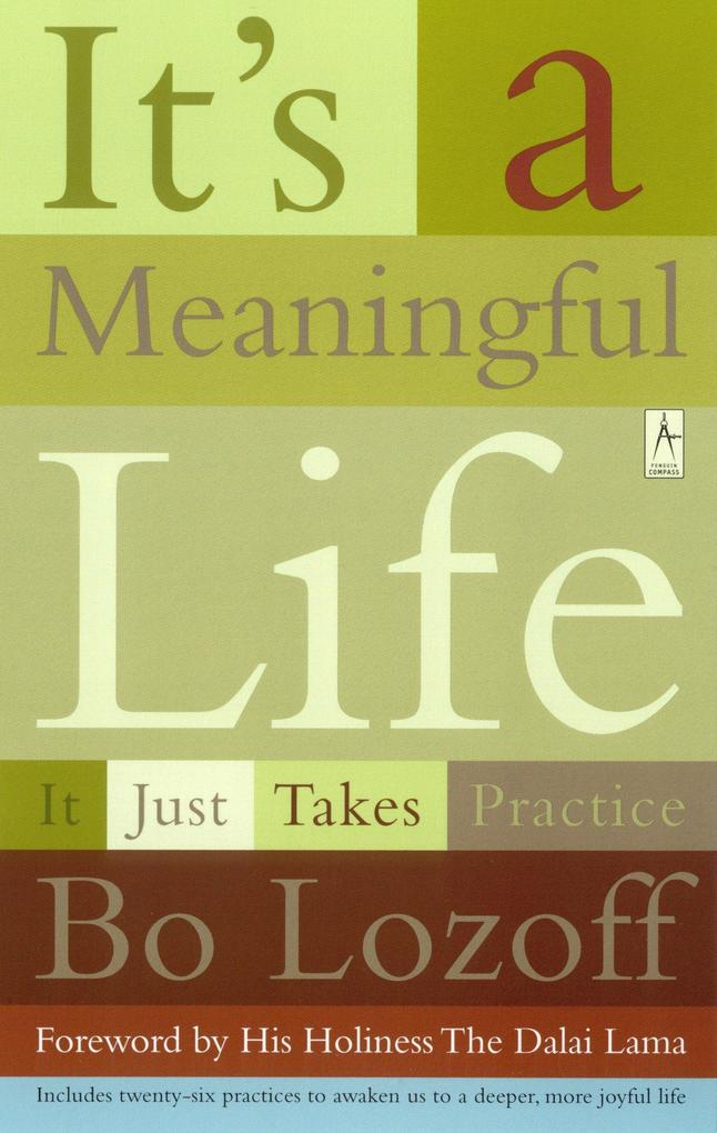 It's a Meaningful Life: It Just Takes Practice als Taschenbuch