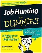 Job Hunting for Dummies. als Taschenbuch