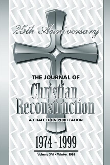 The Journal of Christian Reconstruction als Taschenbuch