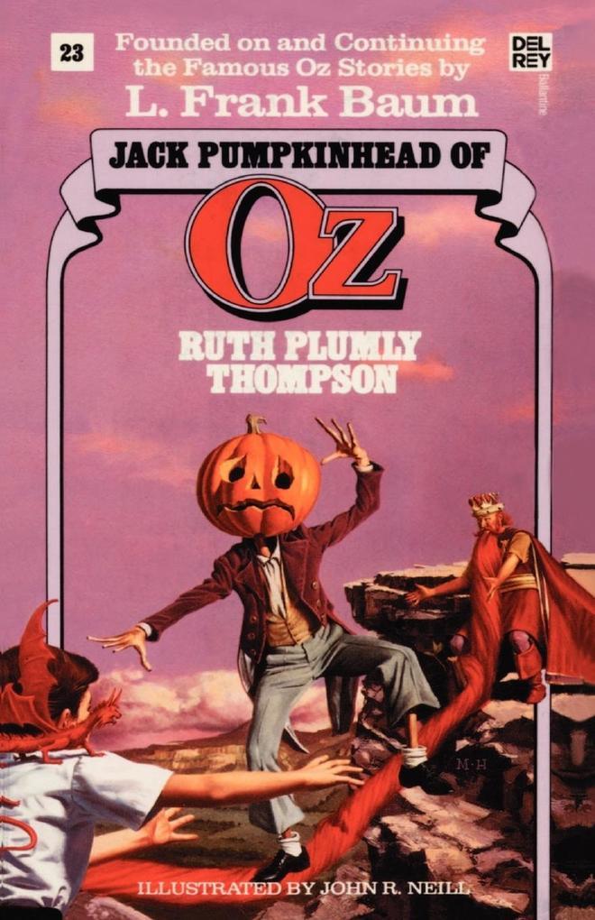 Jack Pumpkinhead of Oz als Taschenbuch