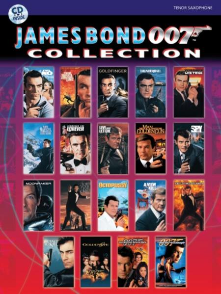 James Bond 007 Collection: Tenor Sax, Book & CD [With CD] als Taschenbuch