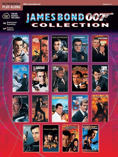 James Bond 007 Collection: Alto Sax [With CD] als Taschenbuch