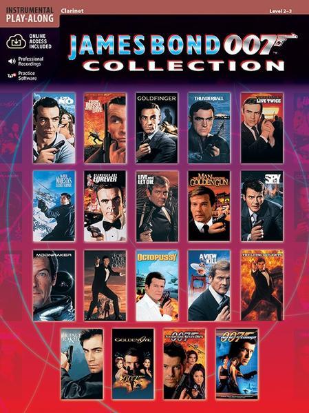 James Bond 007 Collection: Clarinet, Book & CD [With CD] als Taschenbuch