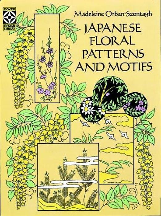 Japanese Floral Patterns and Motifs als Taschenbuch