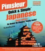 Pimsleur Japanese Quick & Simple Course - Level 1 Lessons 1-8 CD: Learn to Speak and Understand Japanese with Pimsleur Language Programs als Hörbuch