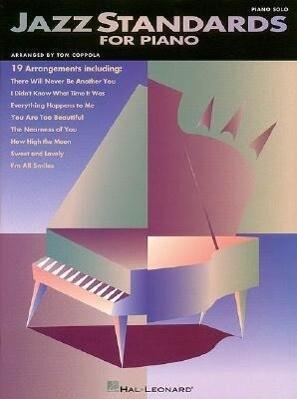 Jazz Standards for Piano als Taschenbuch