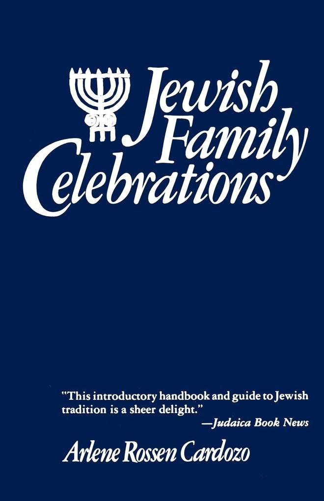 Jewish Family Celebrations als Taschenbuch