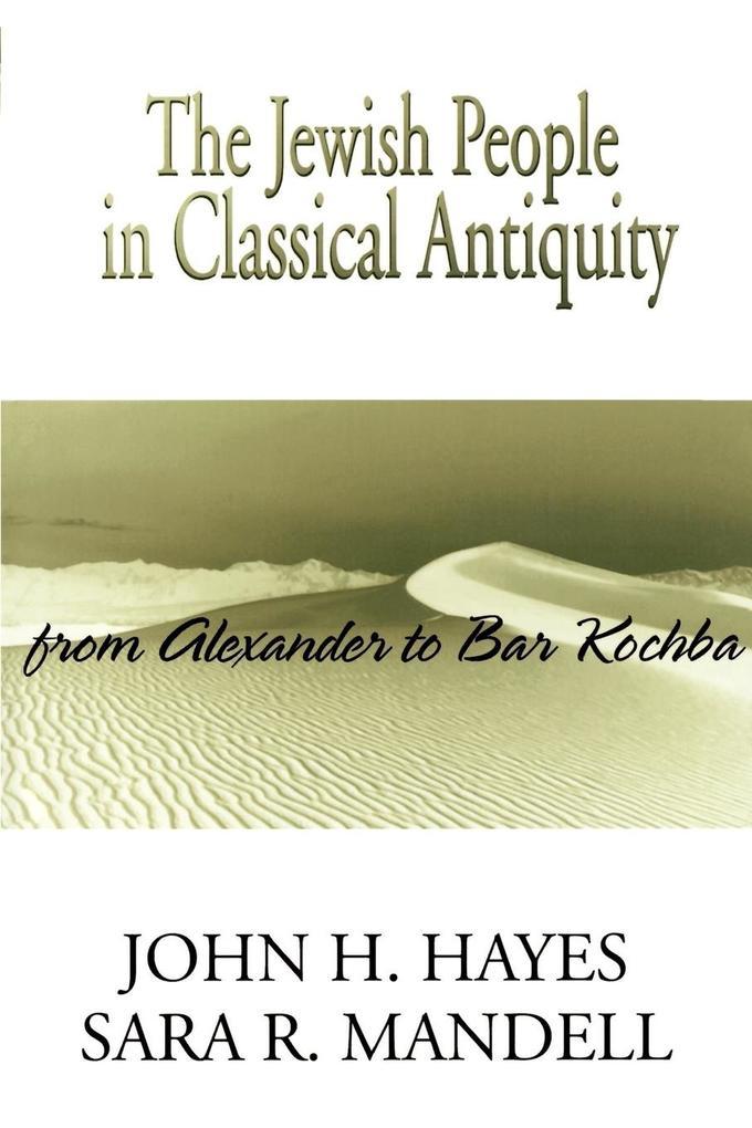 Jewish People in Classical Antiquity als Taschenbuch