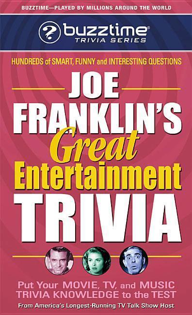 Joe Franklin's Great Entertainment Trivia als Taschenbuch