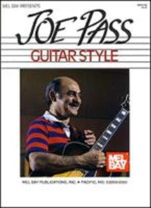 Mel Bay Presents Joe Pass Guitar Style als Spielwaren