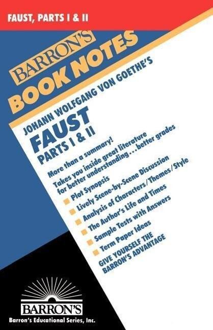 Johann Wolfgang Faust: Parts I and II als Taschenbuch