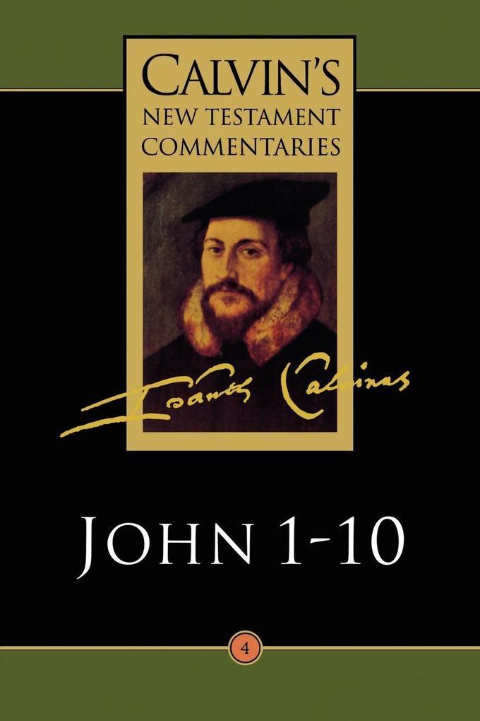The Gospel According to John 1-10 als Taschenbuch