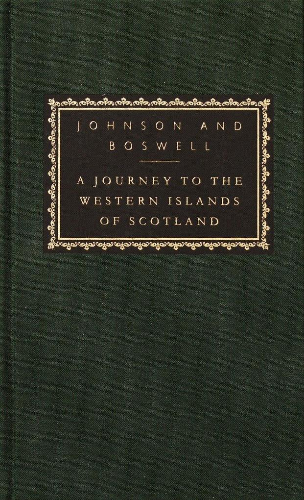 A Journey to the Western Islands of Scotland: With the Journal of a Tour to the Hebrides [With Ribbon Marker] als Buch