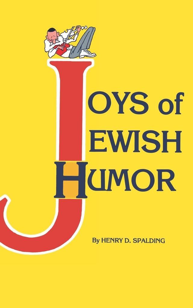 Joys of Jewish Humor als Buch