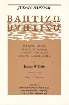 Judaic Baptism als Taschenbuch