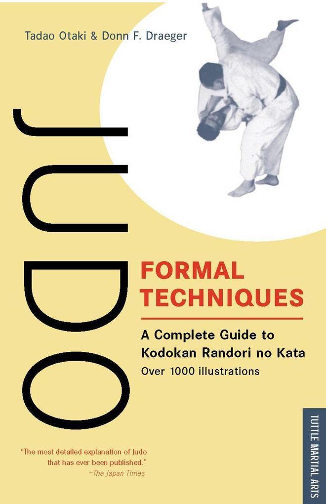 Judo Formal Techniques als Taschenbuch