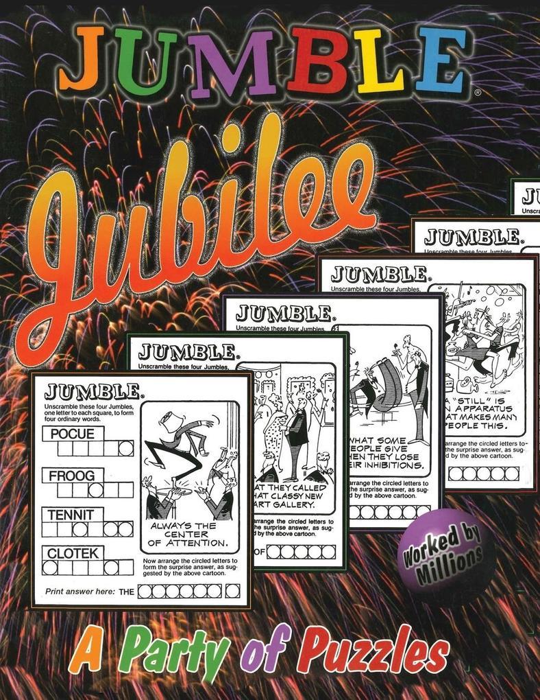 Jumble® Jubilee als Taschenbuch