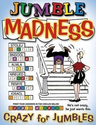 Jumble(r) Madness als Taschenbuch