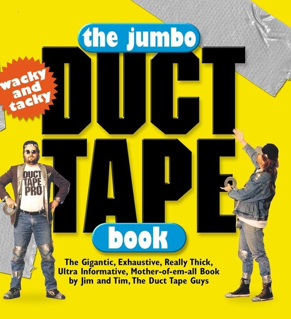 The Jumbo Duct Tape Book als Taschenbuch