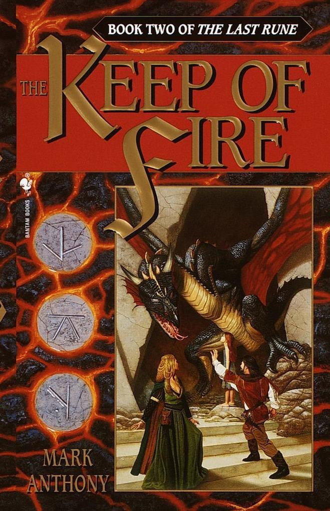 The Keep of Fire: Book Two of the Last Rune als Taschenbuch