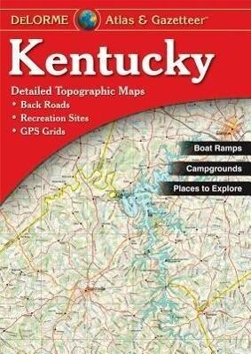 Kentucky - Delorme 2nd als Taschenbuch