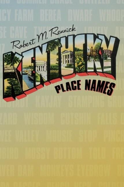 Kentucky Place Names als Taschenbuch