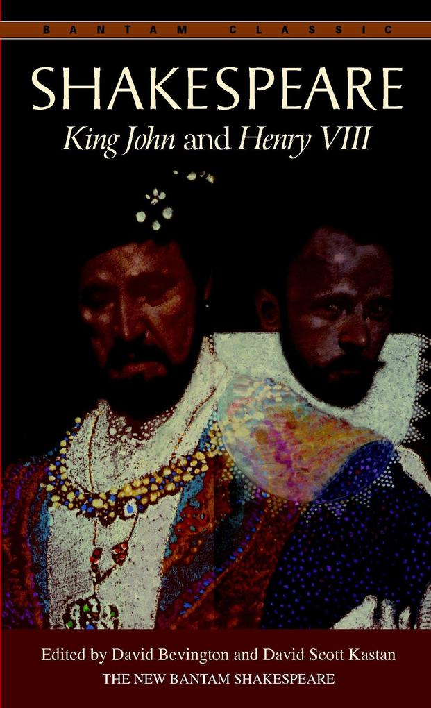 King John ; and, Henry VIII als Taschenbuch
