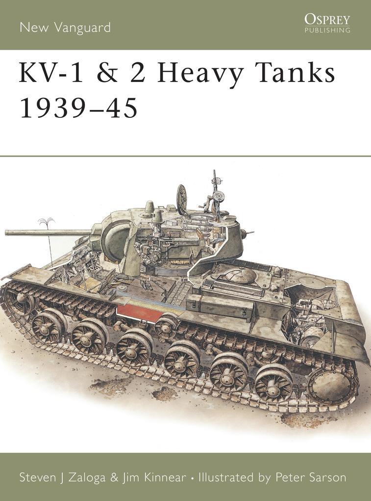 KV-1 and 2 Heavy Tanks, 1939-45 als Taschenbuch