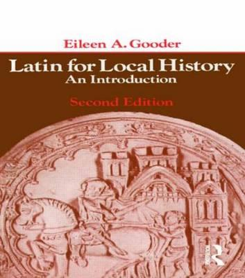 Latin for Local History als Buch
