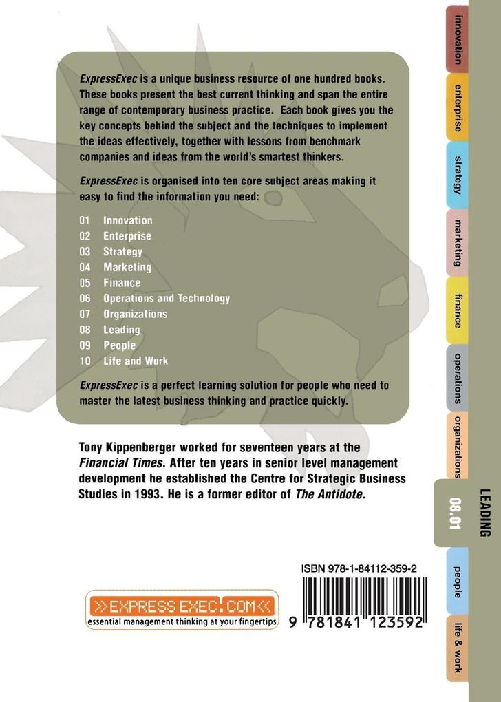Leadership Express: Leading 08.01 als Buch