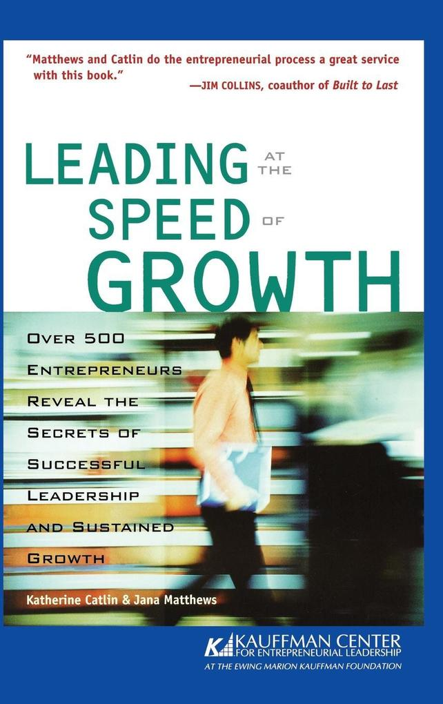 Leading at Speed of Growth als Buch
