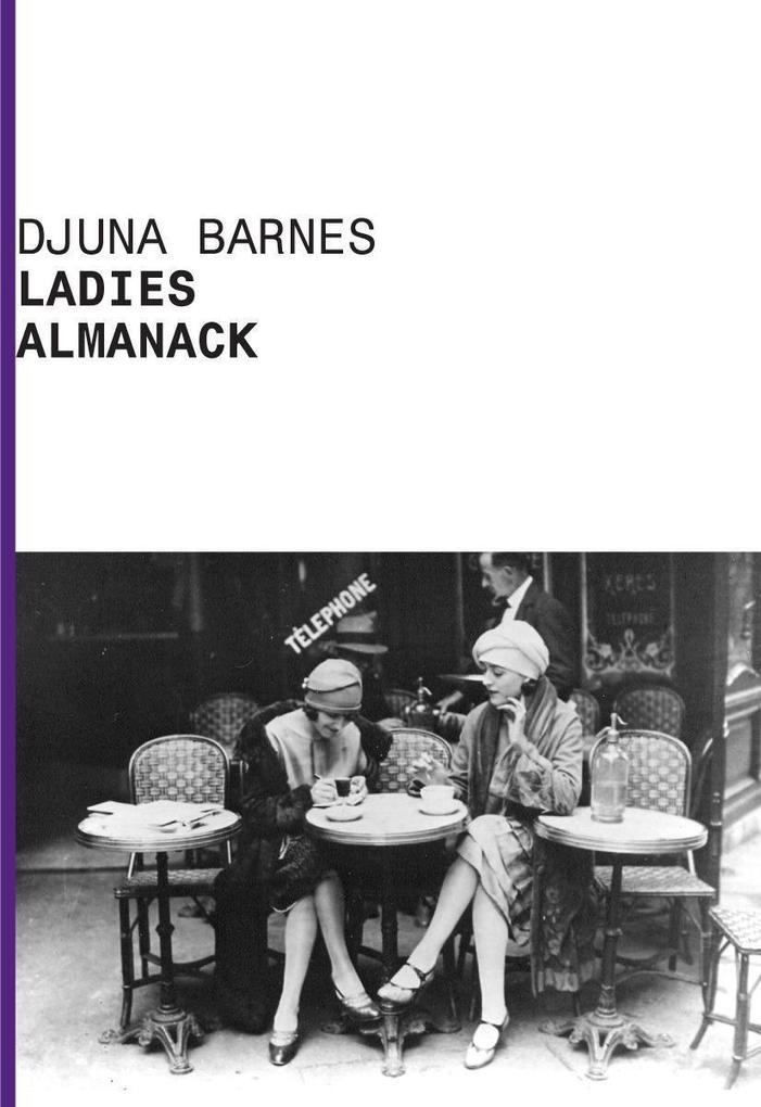 Ladies Almanack als Taschenbuch