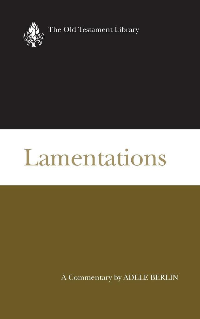 Lamentations (Otl) als Buch