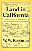 Land in California: Story of Mission Lands Ranchos Squatters als Taschenbuch
