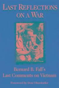 Last Reflections on a War als Buch
