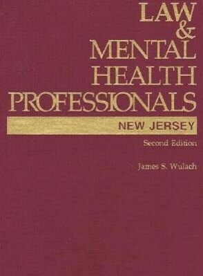 Law & Mental Health Professionals als Buch