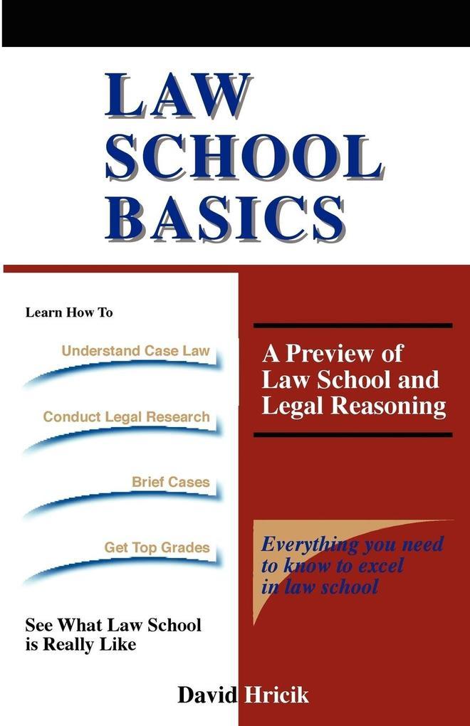 Law School Basics als Taschenbuch