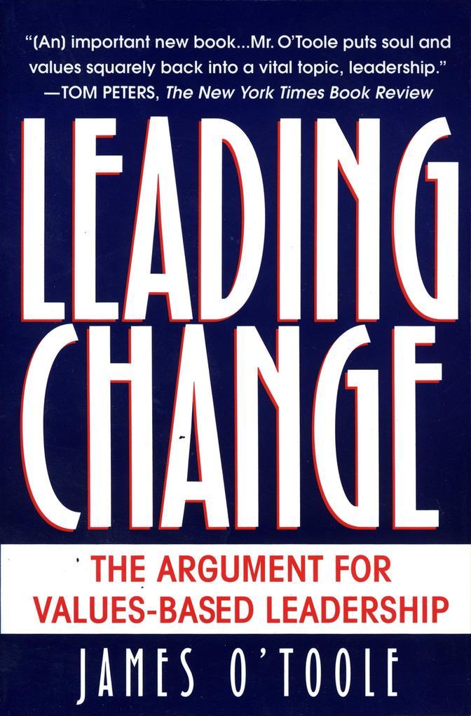 Leading Change als Taschenbuch