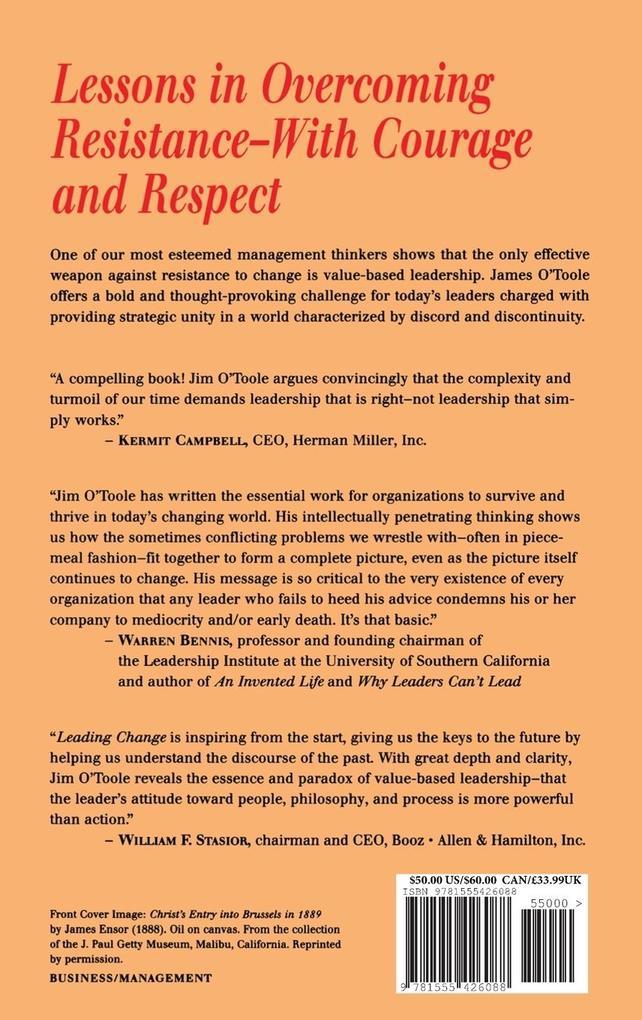 Leading Change als Buch