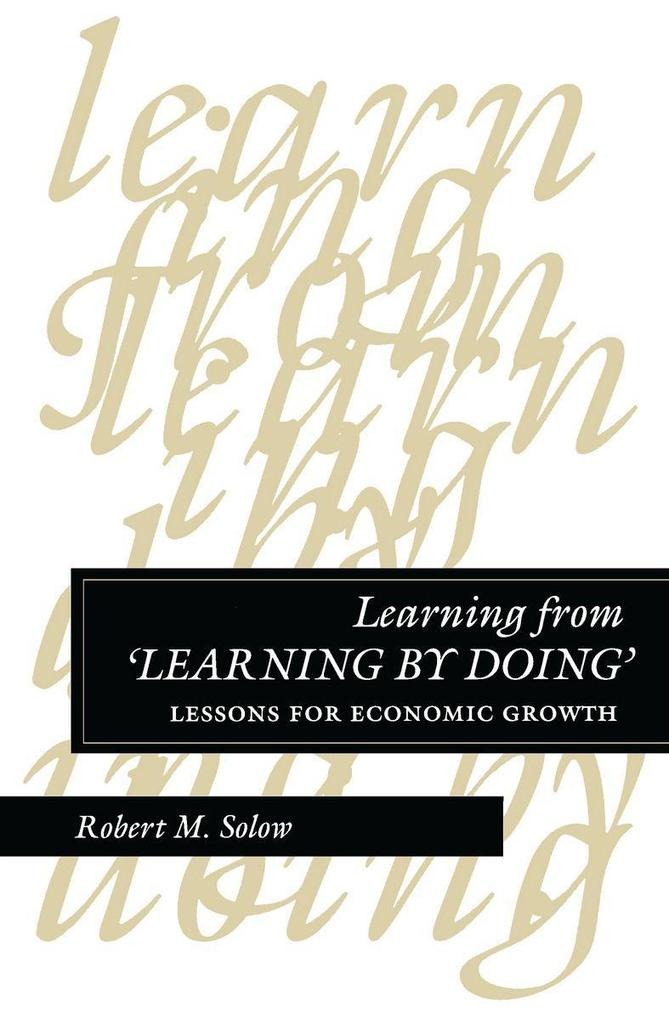 Learning from 'learning by Doing': Lessons for Economic Growth als Taschenbuch