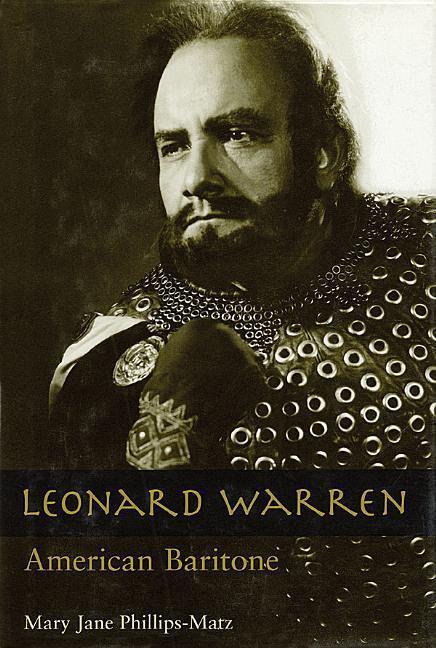 Leonard Warren: American Baritone als Buch