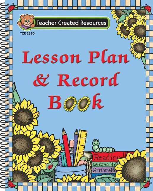 Sunflowers Lesson Plan & Record Book als Taschenbuch