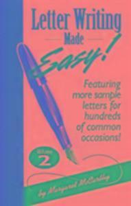 Letter Writing Made Easy - Vol 2 als Taschenbuch