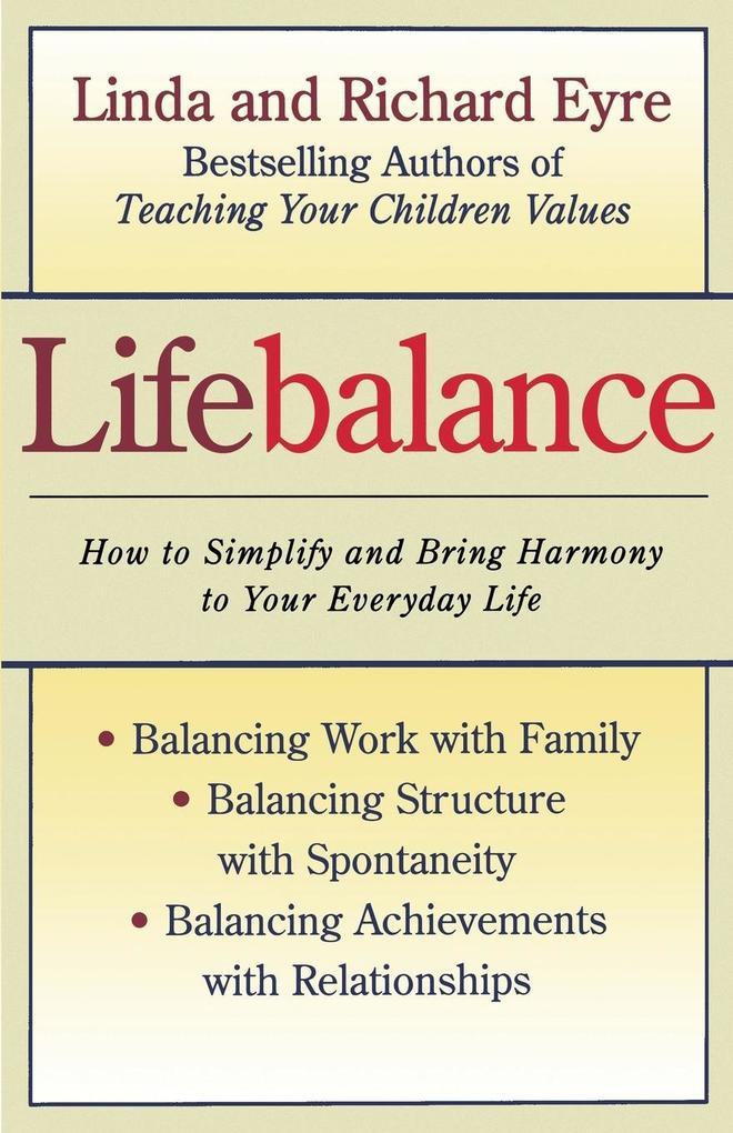 Lifebalance (Original) als Taschenbuch