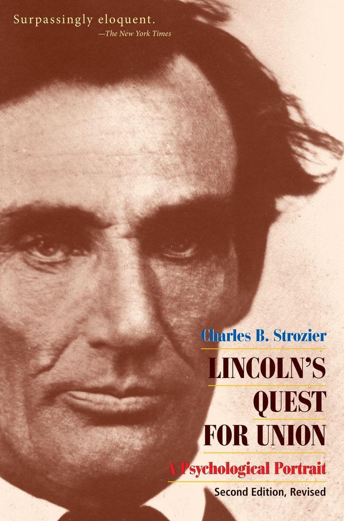 Lincoln's Quest for Union als Taschenbuch