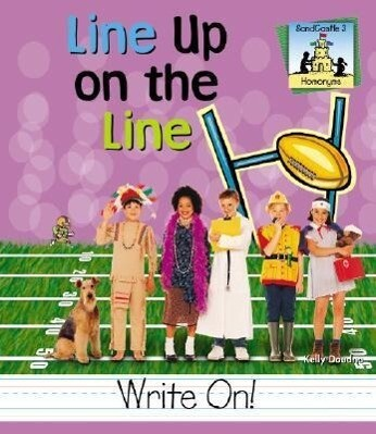 Line Up on the Line als Buch