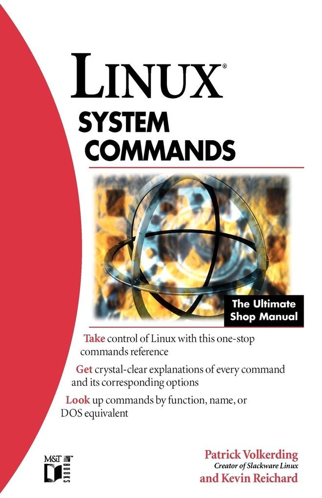 Linux System Commands als Buch